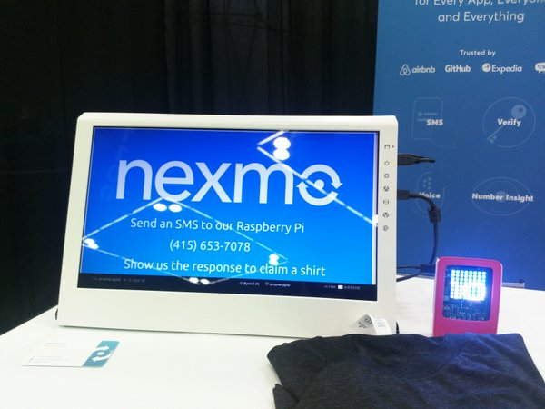 Nexmo Demo at PyCon