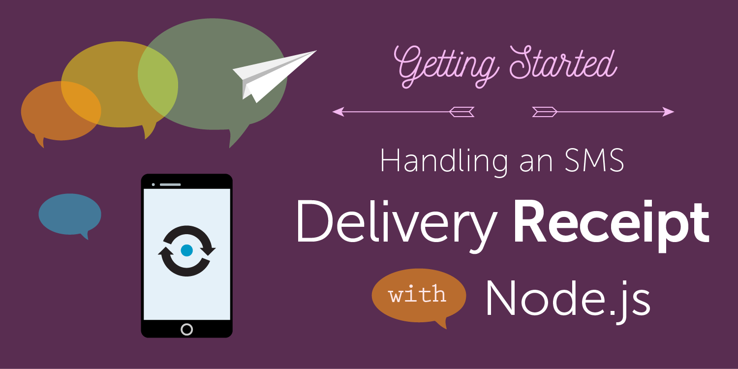 nexmo sms delivery receipt