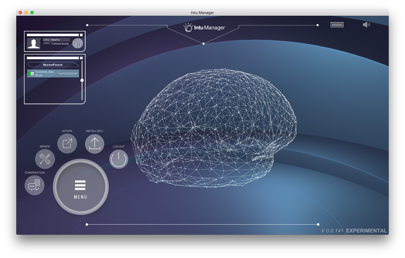 IBM Watson Intu - app brain