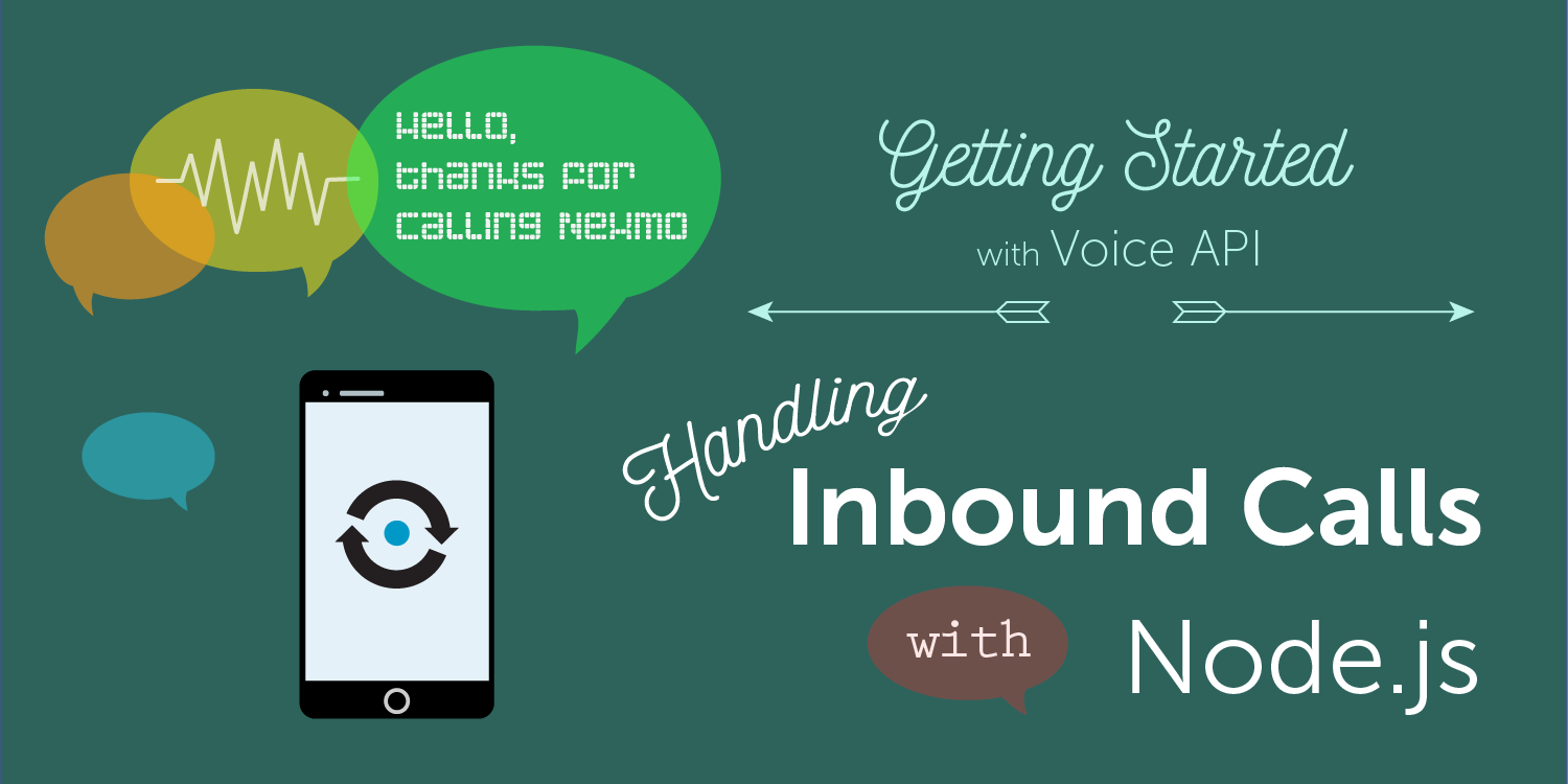 Voice API Handle Incoming Calls