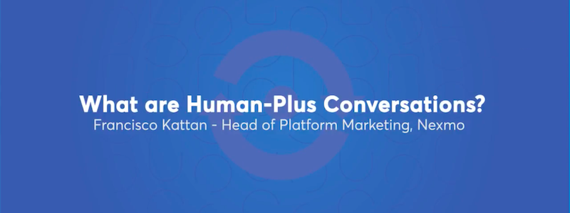 human plus AI