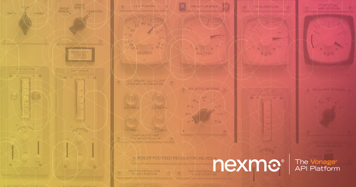 Voice application management is now easier in the Nexmo Dashboard. Read this blog to find out how.