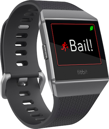 Bail Out watch app