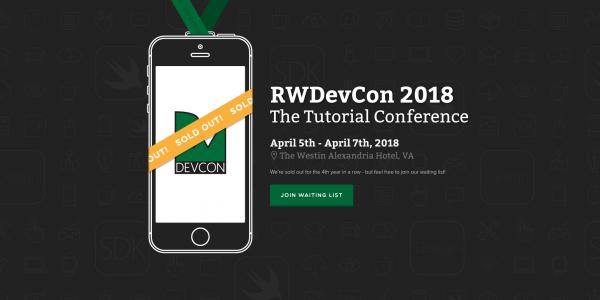 RWDevCon 2018