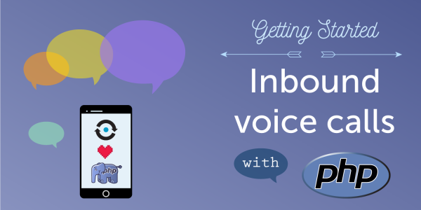 Inbound voice calls with PHP