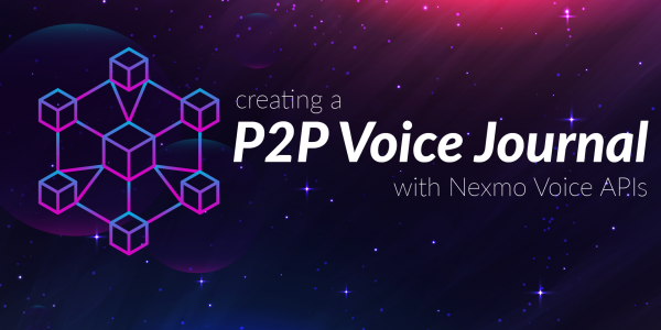 Creating a peer-to-peer voice journal
