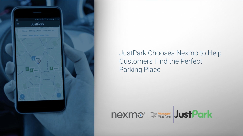 JustPark video testimonial thumbnail