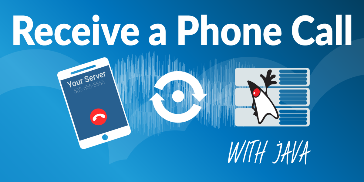 Receive a Phone Call with Java