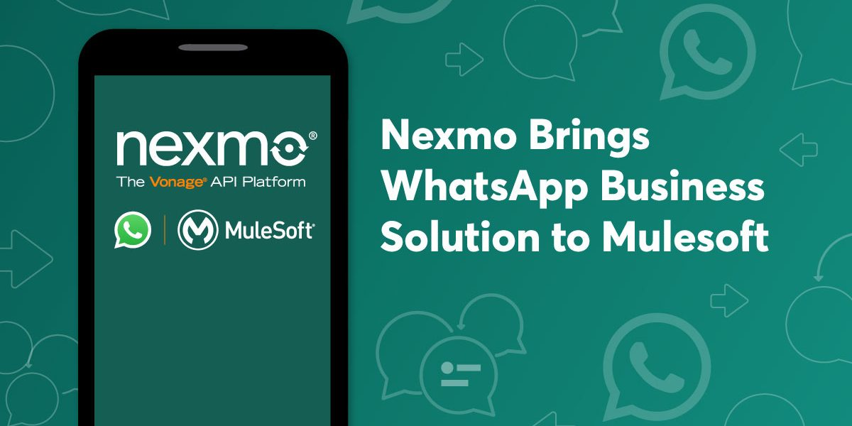 Our WhatsApp Business solution launched on August 1 and we've gotten an extremely strong response from the market.
