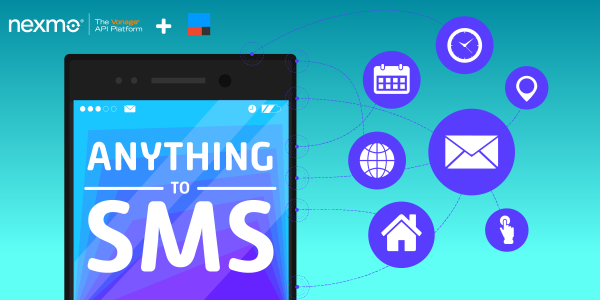 Email, calendar, IoT and more to SMS