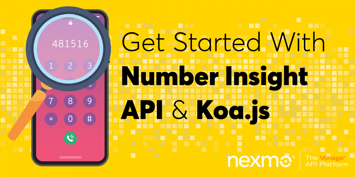 Getting Started with Number Insight API & Koa.js
