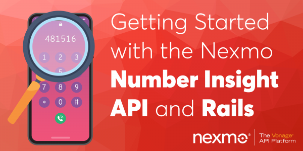 Getting Started with the Number Insight API and Rails