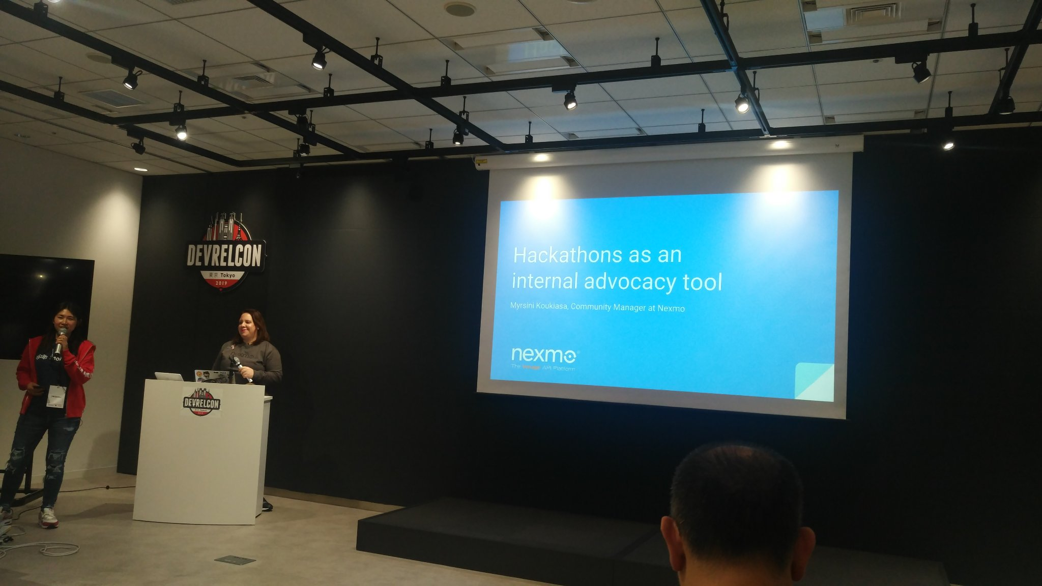 Myrsini on Hackathons as an internal advocacy tool