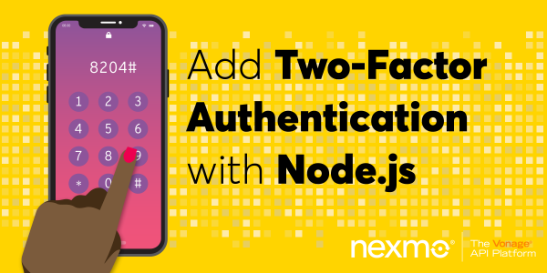 Add 2FA With Node.js