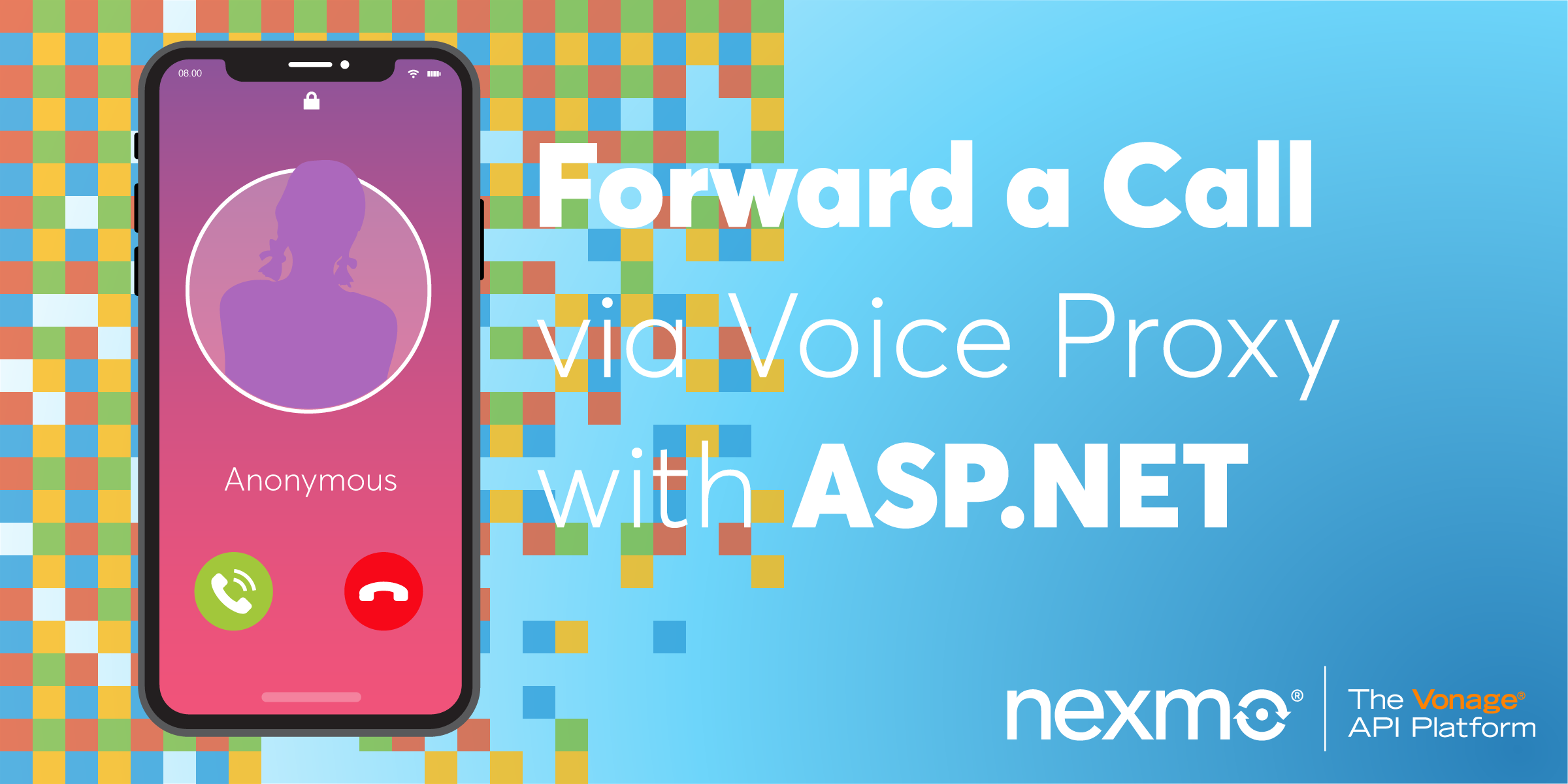 Forward a Call via Voice Proxy with ASP NET Core - Nexmo