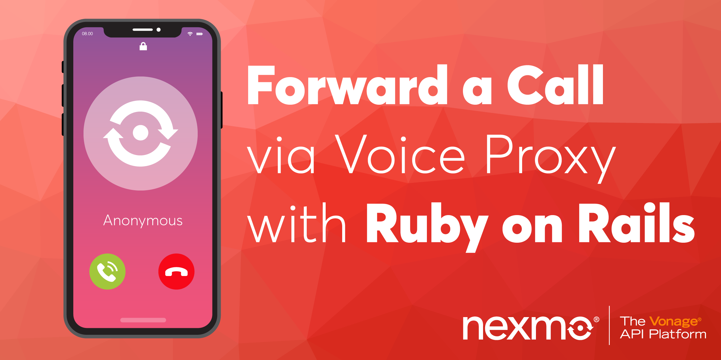 Forward a Call via Voice Proxy with Ruby on Rails