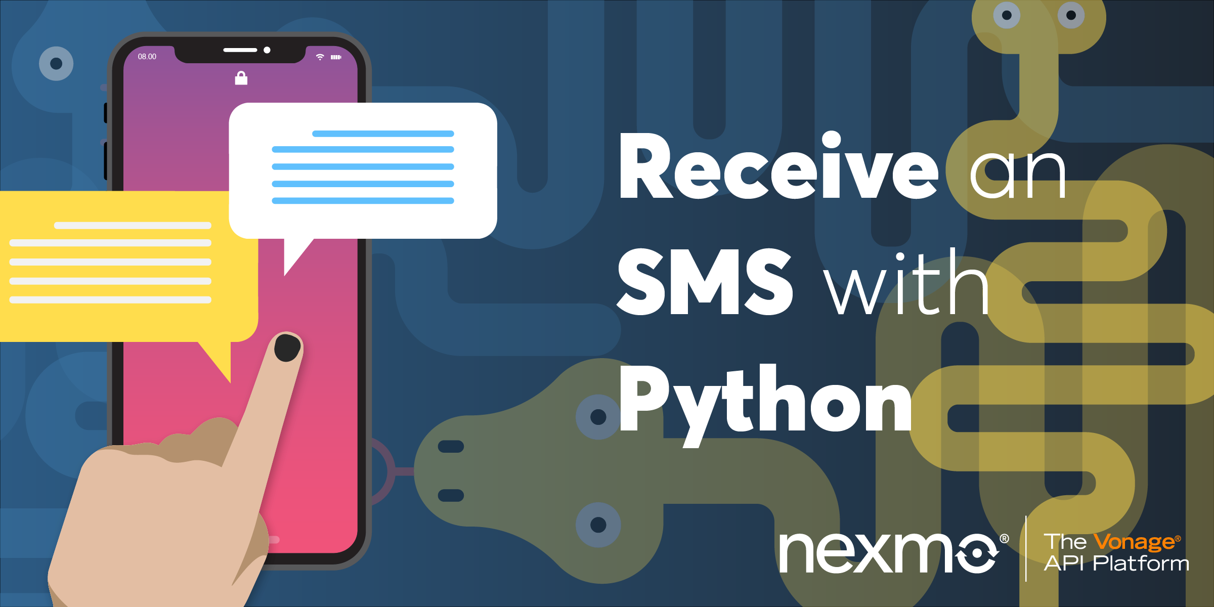 Receive an SMS with Python - Nexmo Developer Blog