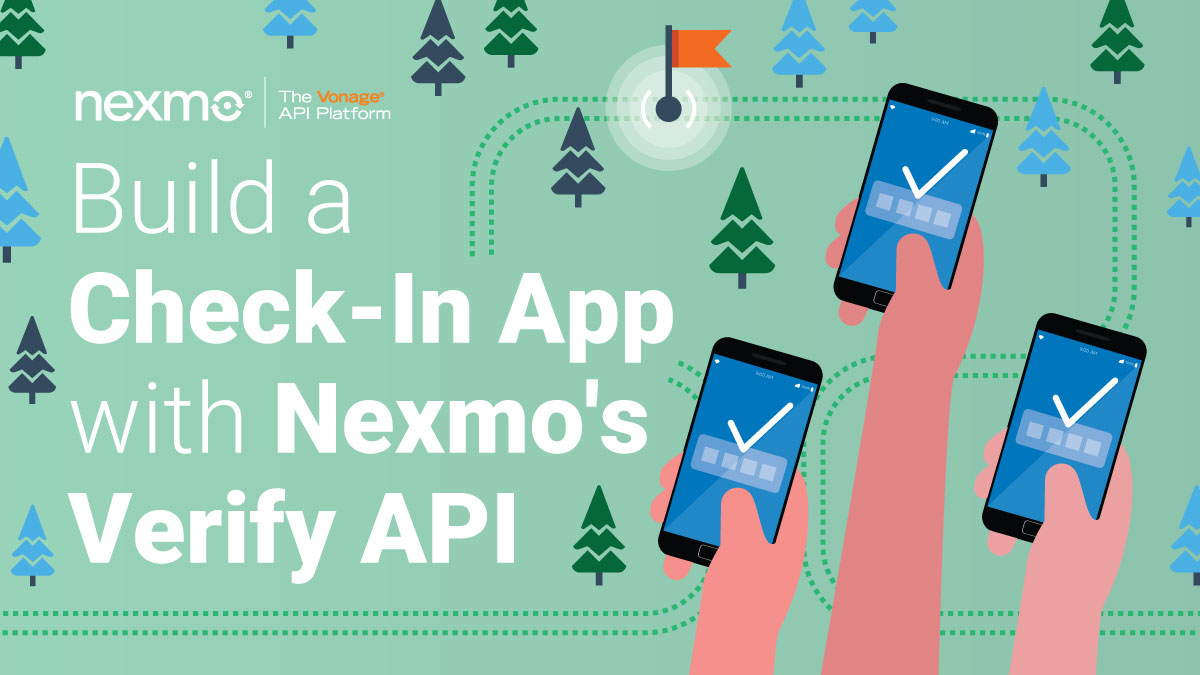 Building a Check-In App with Nexmo's Verify API and Koa js - Nexmo