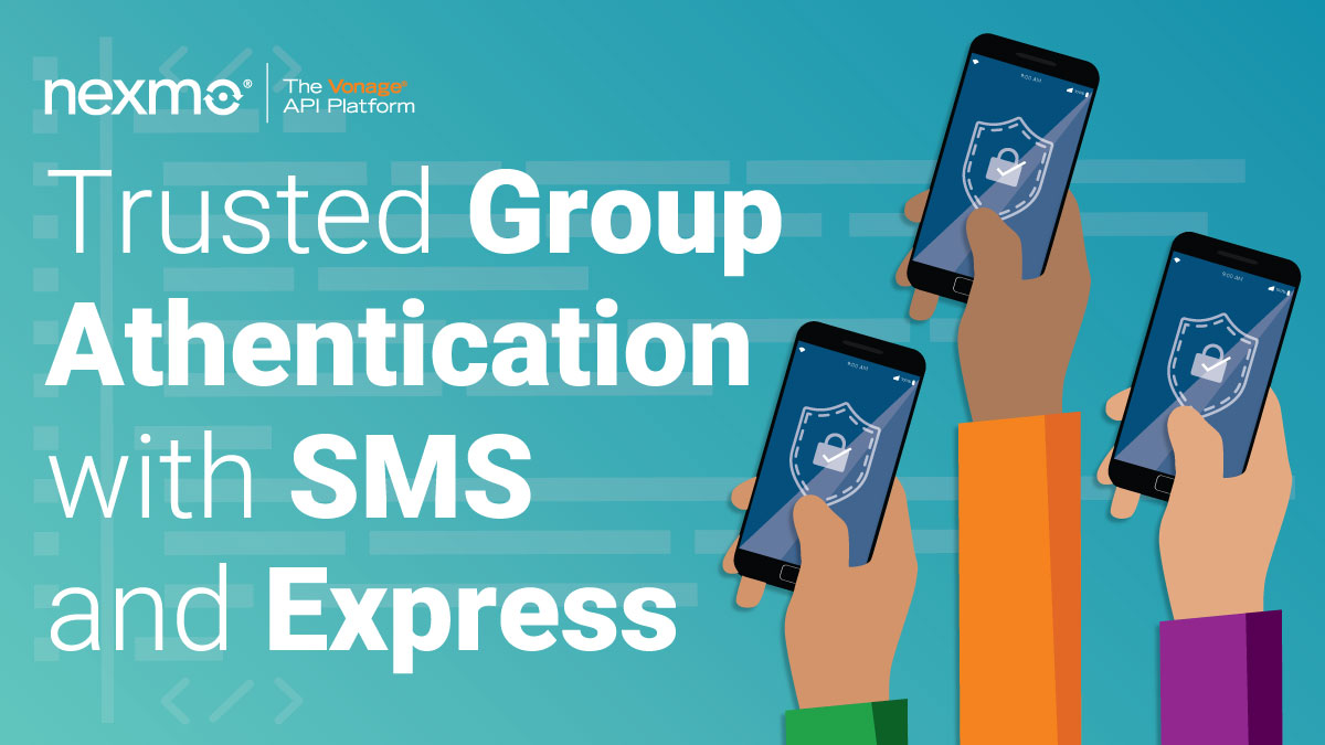 Group Authentication with SMS and Express