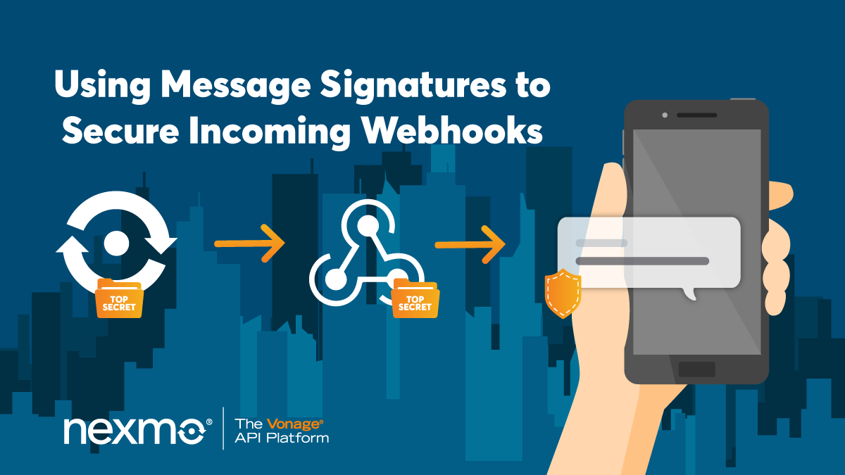 Using Message Signatures to Secure Incoming Webhooks