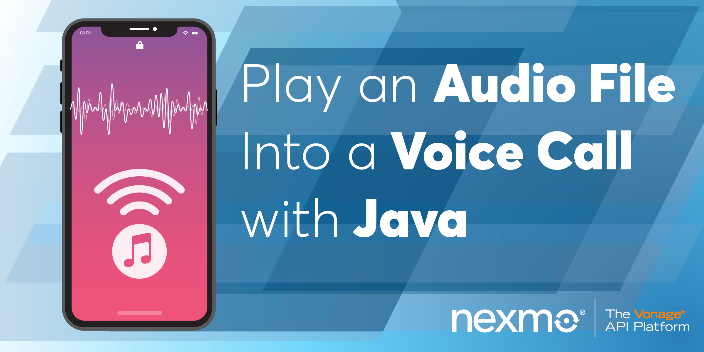 Play an Audio File Into a Voice Call with Java and Spark