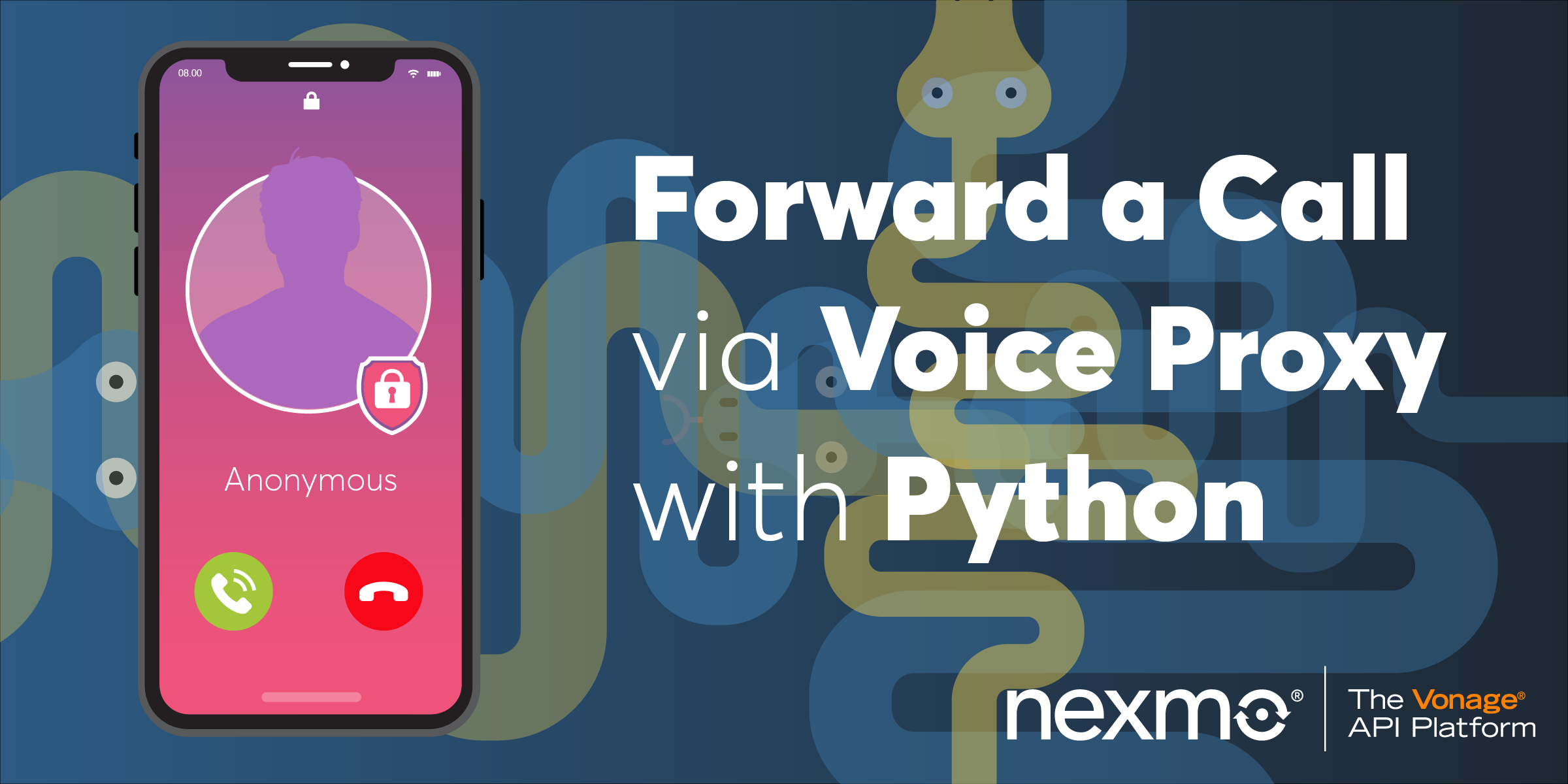 Forward a Telephone Call Via Voice Proxy with Python and