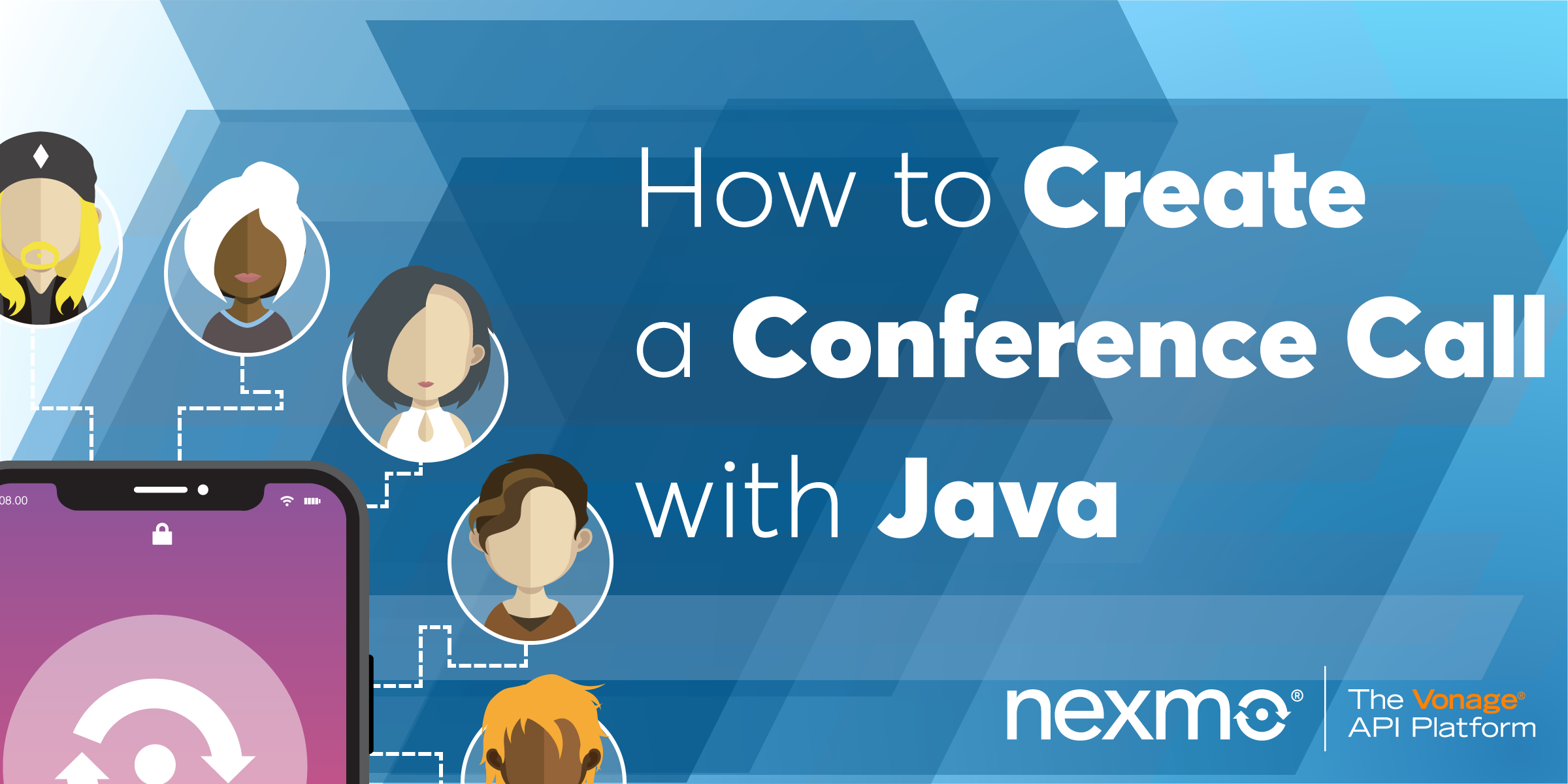 Create a Conference Call with Java