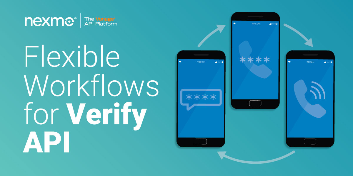 Flexible Workflows for Verify API
