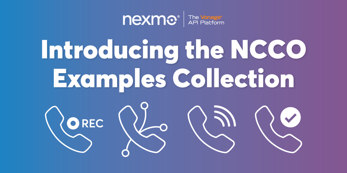 Introducing the NCCO Examples Collection