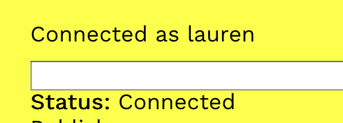 connectionstatus