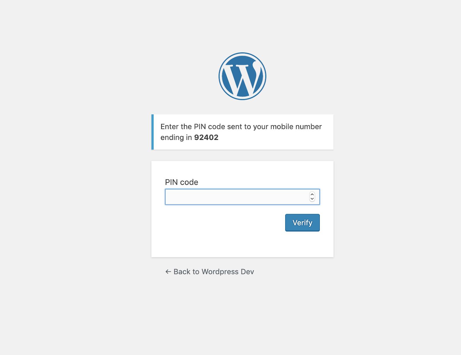 wordpress pin