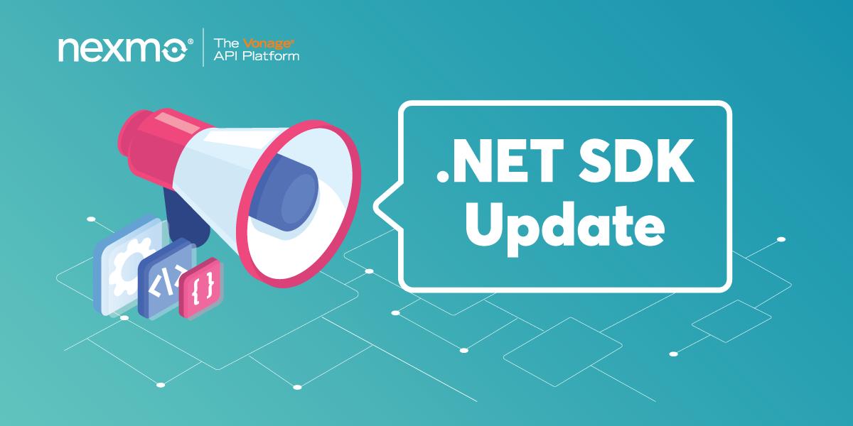 .NET SDK Update