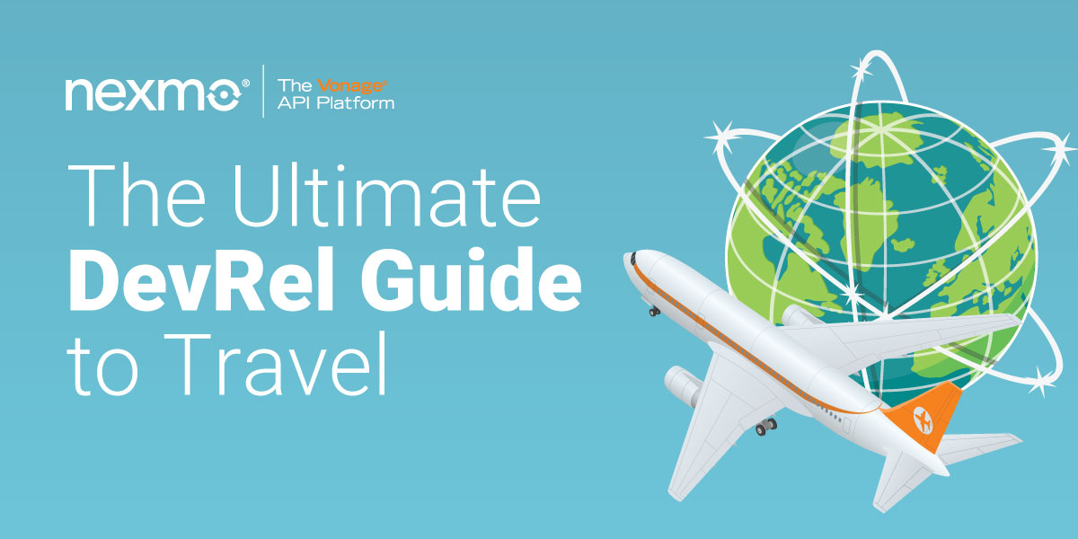 Title Image: The Ultimate DevRel Guide to Travel