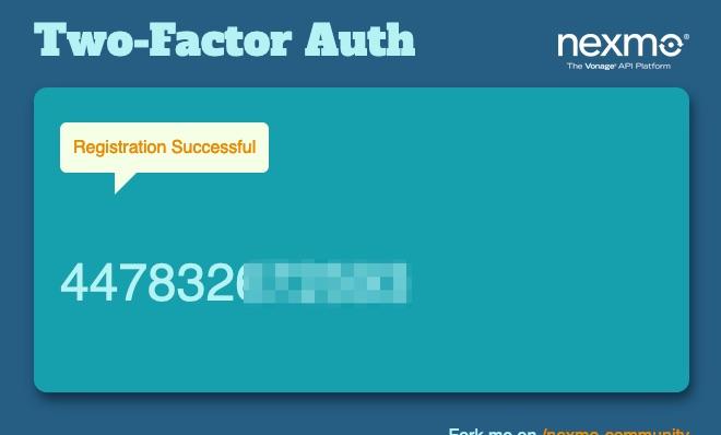 Verification Check Success