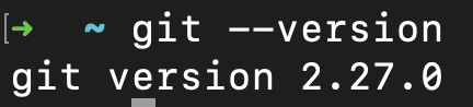 Git Version