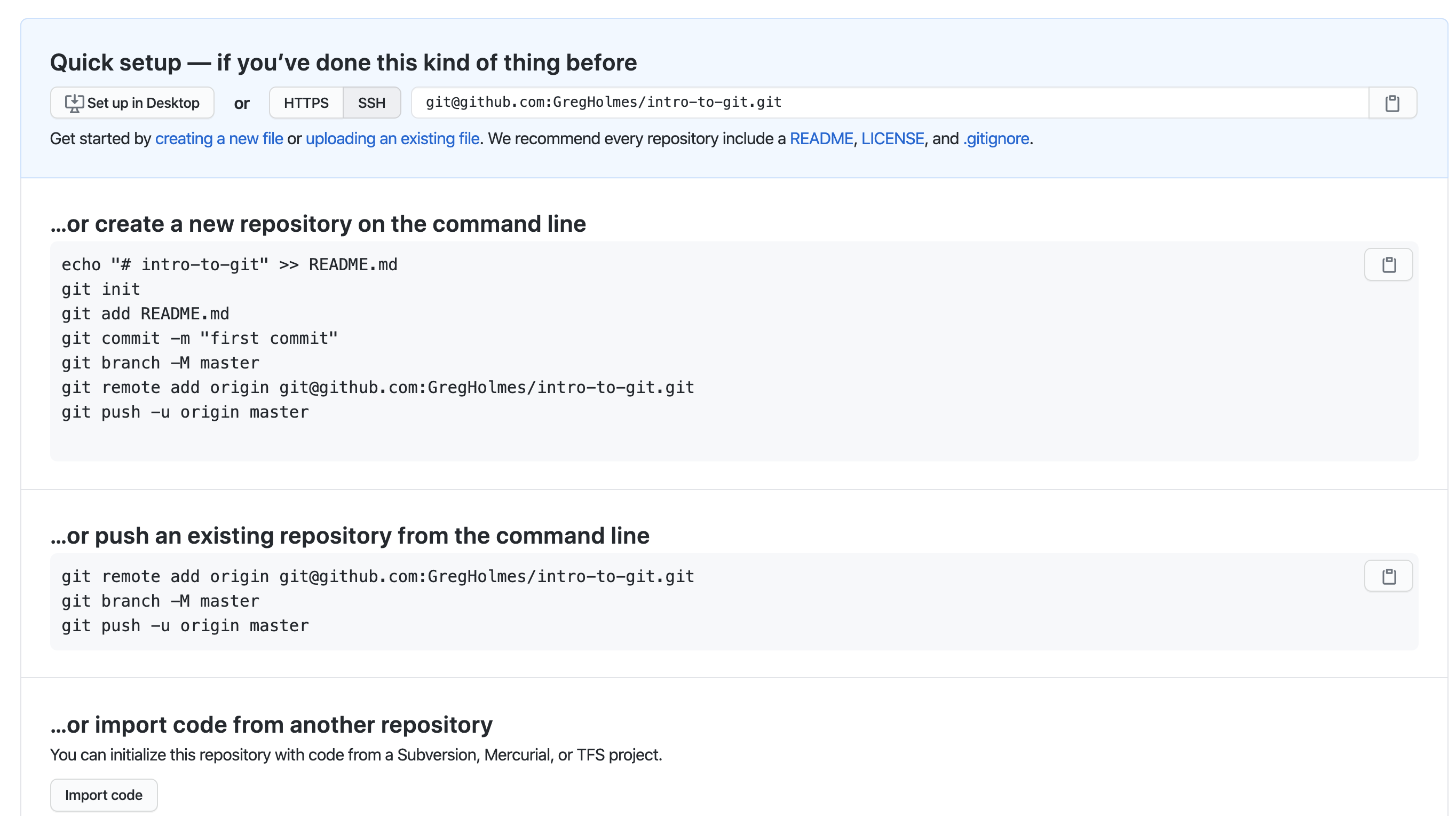 GitHub Repository Created