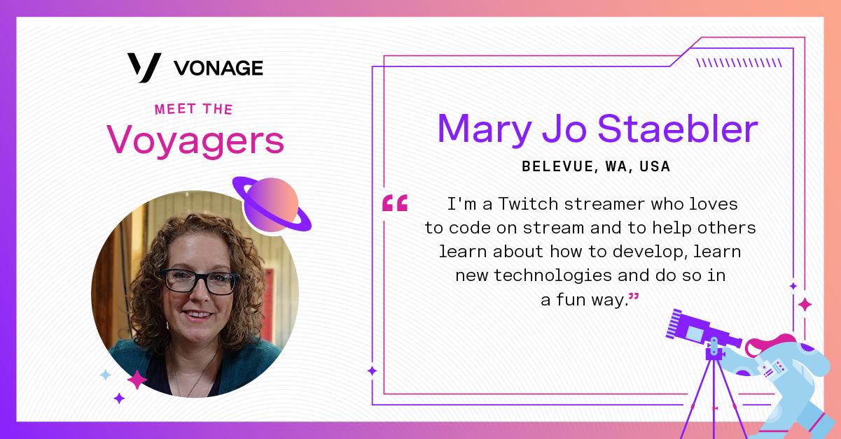 Mary Jo Staebler - Vonage Voyager